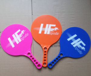Sports for Fun Great for Pool Beach, Backyard Fluorescence Color Beach Tennis Racket pictures & photos