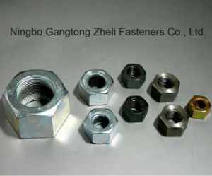 ISO4032 Heavy Hex Nuts with Black Finish pictures & photos