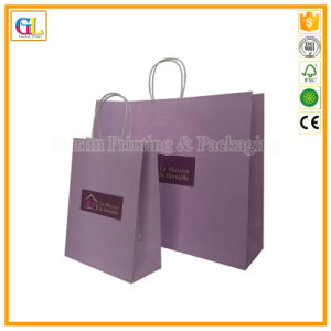 Custom Paper Shopping Gift Bag with Logo Print Wholesale pictures & photos
