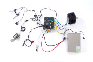 96V 5kw Electric Motorcycle Motor Drive Kit with Hpc Controller, Air Cooling pictures & photos