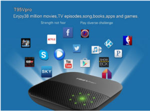 T95V PRO Android 6 0 TV Box 3G 4G SIM Card Amlogic S912 Octa Core 2GB 16GB  Dual WiFi Bt4 0 Android TV Box with USB 3 0