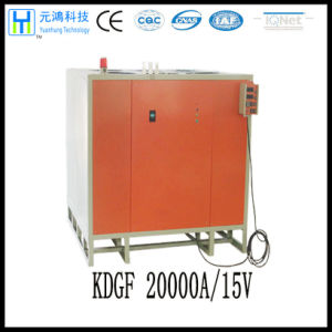 Low Ripple 15V 20000A Adjustable Rectifier for Chrome Plating