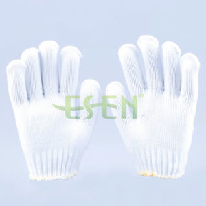 Construction Protective Household Knitted Work Gloves pictures & photos