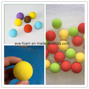 Hot Sale! EVA Toy High Density EVA Foam Balls Bouncy Rubber Ball