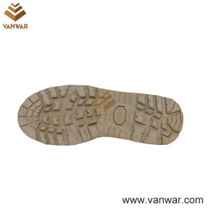 Suede Cow Leather Military Desert Boots of Breathable Mesh Lining (WDB043) pictures & photos