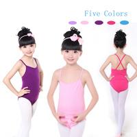 3f118cdacd6e China Children Kids Double X-Back Gymnastic Ballet Sexy Dance Girls ...