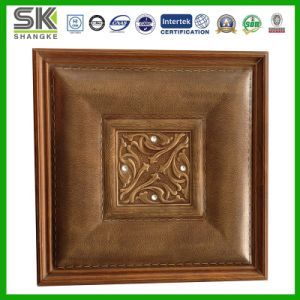 Leather Carving Soft Packaging for Ceiling and Wall Decoration