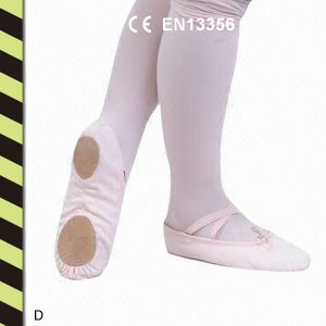 Canvas Split-Sole Ballet Slippers for Kids and Adlts pictures & photos