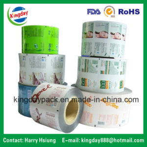 Laminated Rewind Film/Rolling Film/Packaging Film for Auto-Packing Machine for Food/ Coffee/Biscuit/Bean Milk/ Fruit Juice/Beverage/ Shampoo