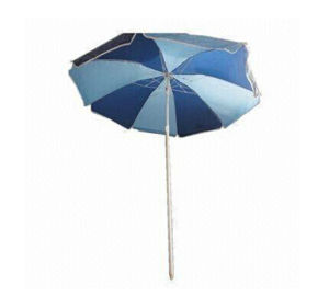 New Design Fabric Beach Umbrella Custom Size pictures & photos