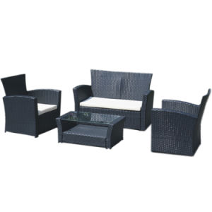 Garden Leisure Pe Rattan Outdoor Sofa Set