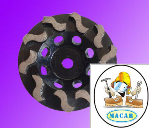 High Efficiency Diamond Cup Grinding Wheel for Sale