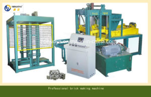 Automatic Cement Brick Machine Made in China (NYQT4-15)