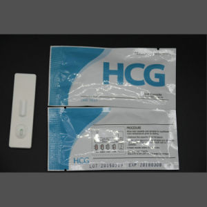 One Step Diagnostic Pregnancy Urine Test pictures & photos