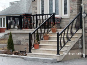 Aluminium Glass Staircase/Handrail /Glass Railings /Escalator pictures & photos