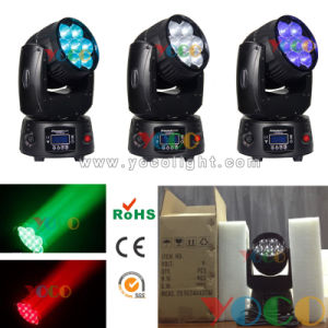 2015 New 7X12W RGBW 4in1 Osram LED Moving Head Light