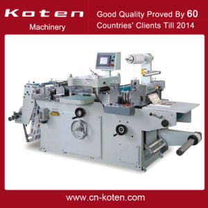 Automatic Label Die Cutter for Jordan Customer (MQ-320) pictures & photos