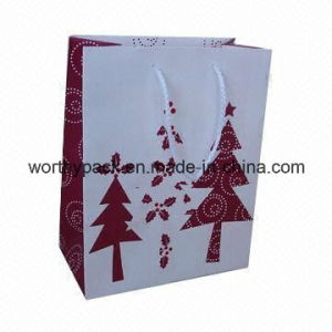 Customized Paper Carrier Bag with Rope Handle