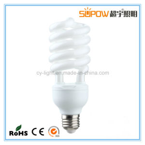 24W 12mm T4 Tri-Phosphor Half Spiral Energy Saving Lamp pictures & photos
