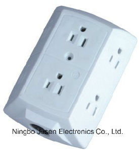 American Grounding Electric Wall Plug pictures & photos
