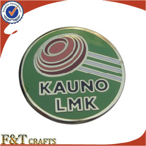 Wholesale Company Customised Epoxy Coated Metal Badge (FTBG1430A) pictures & photos