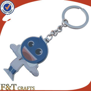 Novelty Promotional Print Football Stainless Steel Keychain (FTKC1850A) pictures & photos