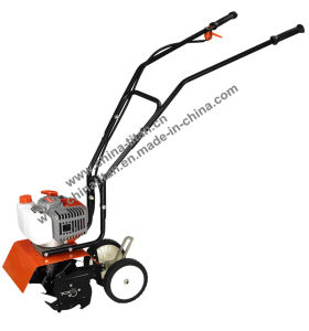Gasoline Cultivater with Wheels 51.7cc Engine