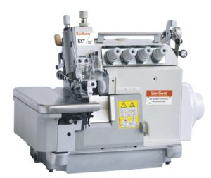 Direct Drive Four Thread Overlock Sewing Machine pictures & photos