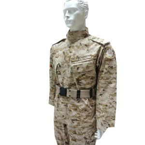 Rip-Stop Desert Army Combat Uniform of 65%Cotton and 35%Polyester pictures & photos