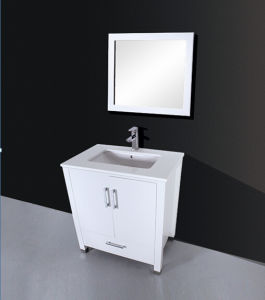 One Drawer Painting Batnroom Cabinet (with mirror)