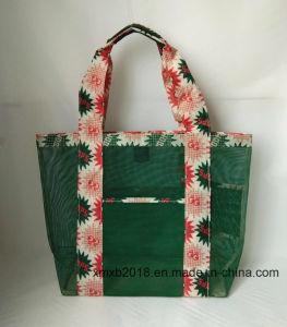 Shopping Bag-Plastic Tote Bag-Plastic Mesh Beach Bag
