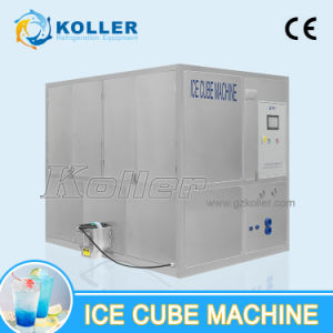 Commercial Food-Grade Cube Ice Maker 3000kg/24H