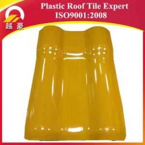 30years Warranty Brick Red ASA Plastic Roof Tiles