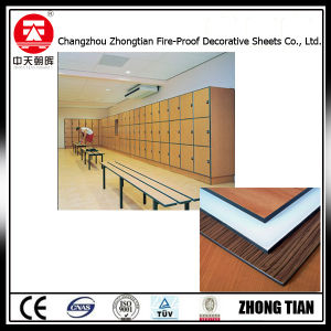 Compact Laminate Board Used for Lockers pictures & photos