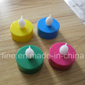 Multicolor Home Decorative Flameless Pillar LED Battery Operated Imitation Tealights pictures & photos