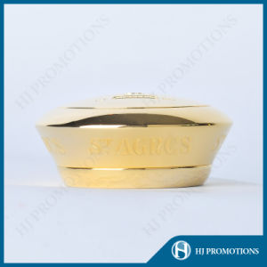 High Quality Zamac Metal Liquor Bottle Cap with Cork (HJ-MCJM03) pictures & photos