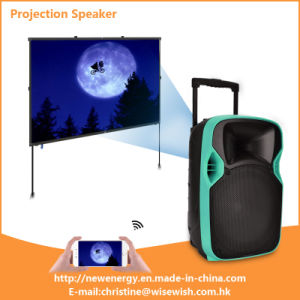 Professional Guitar PA Speaker Sound Box with LED Projector Best-Seller