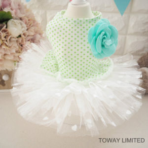 Lovely Summer Dog Dress Printing Dots Tutu Pet Skirts pictures & photos