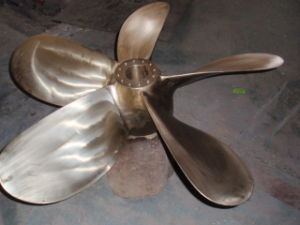 Special Design for High Speed Marine / Boat Propeller