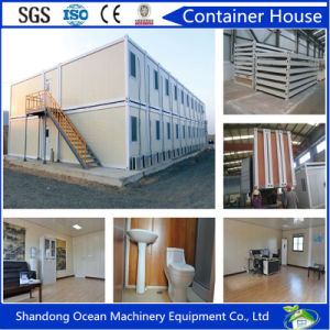 20FT Prefabricated Steel Structure Container House by Sandwich Panel for Living and Warehouse pictures & photos