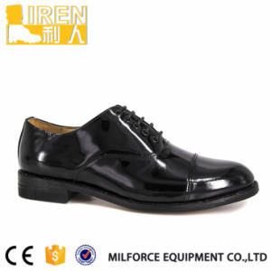 Hot Sale Cheap Fashion Dress Black High Quality Genuine Cow Leather Men Oxford Shoes pictures & photos
