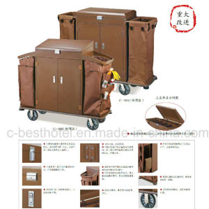 Laundry Trolley Linen Trolley Housekeeping Cart pictures & photos