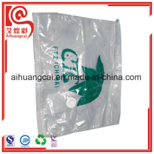 Customized Brand Zipper Plastic Vacuum Bag for Clothes Storage pictures & photos