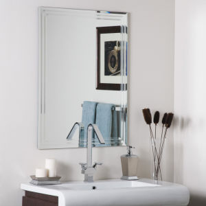 Waterproof Frameless Bathroom Mirror, Made of Polished Edge Silver Mirror Glass, Can Be in Square, Round, Oval or Irregular Shapes pictures & photos