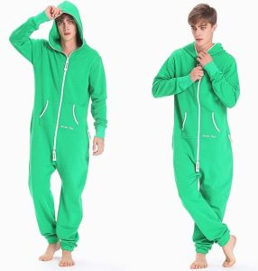 New Arrival Adult Onesie Jumpsuit One Piece Jump in Suit Zipped Hoodie Jumpsuits