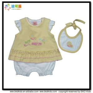 Combed Cotton Baby Clothes OEM Service Newborn Goft Set pictures & photos