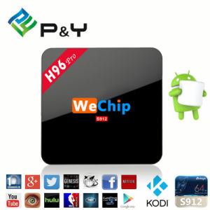 Wechip H96 PRO Amlogic S912 Octa Core TV Box Android 6.0 OS 2GB/16GB Dual WiFi Bt4.0 2.4G/5.8g H. 265 4k pictures & photos