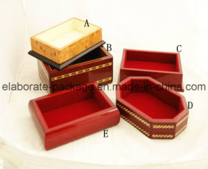 Luxury Wooden Tray Cutomized Design MDF Frame Jewellry Tray pictures & photos
