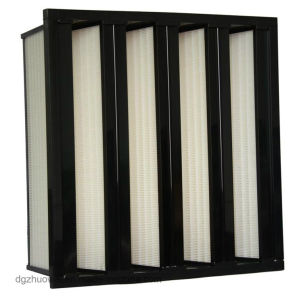 New 4V-Bank Large Volume Industrial Air Filter with PP Media pictures & photos