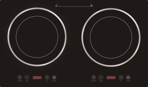 CE CB Approved Double Burners Induction Cooker Model Sm20-Dic06 pictures & photos